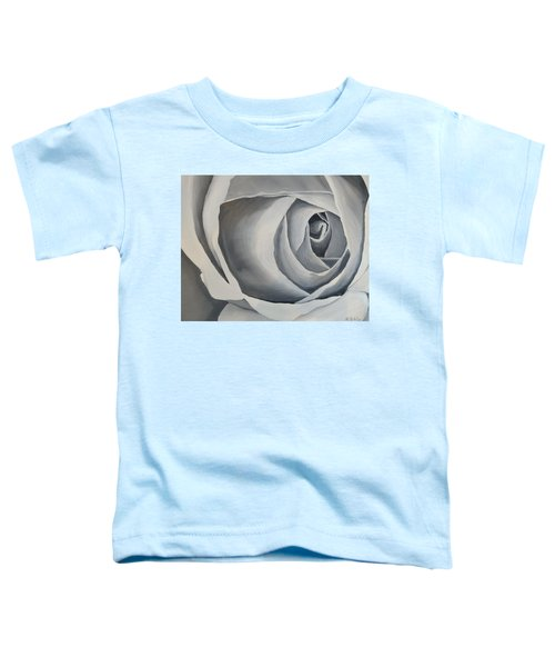 White Rose Toddler T-Shirt