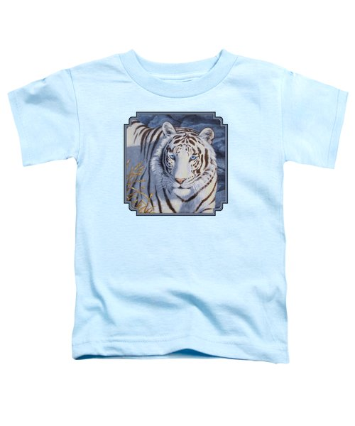 White Tiger - Crystal Eyes Toddler T-Shirt