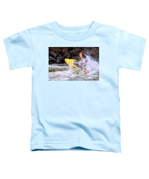 Whitewater On The New River Toddler T-Shirt