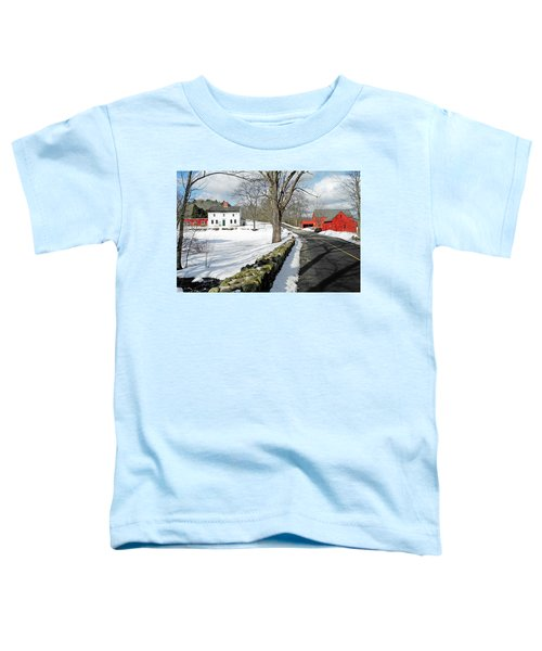 Whittier Birthplace Toddler T-Shirt