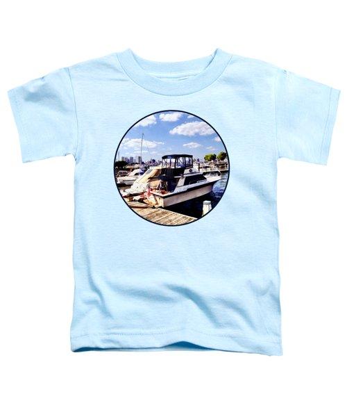 Wiggins Park Marina Toddler T-Shirt