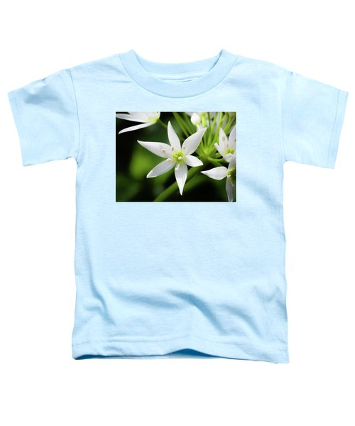 Wild Garlic Flower Toddler T-Shirt