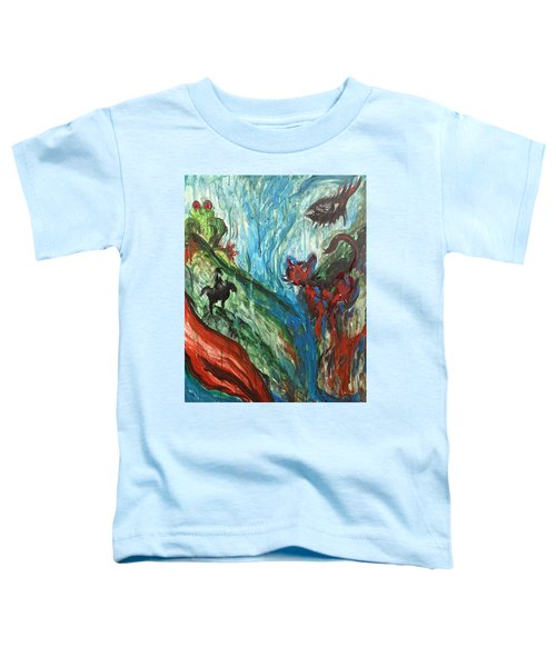 Wild Periscope Collaboration Toddler T-Shirt