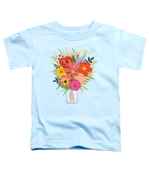 Wildflower Bouquet Toddler T-Shirt