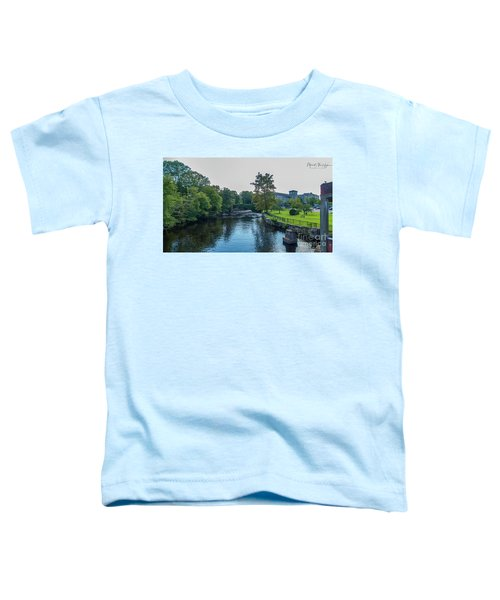 Willimantic River Toddler T-Shirt
