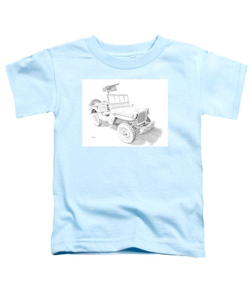 Willy In Ink Toddler T-Shirt