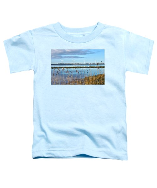 Windmills On A Windless Morning Toddler T-Shirt