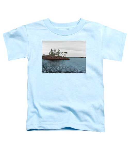 Windswept Island Georgian Bay Toddler T-Shirt