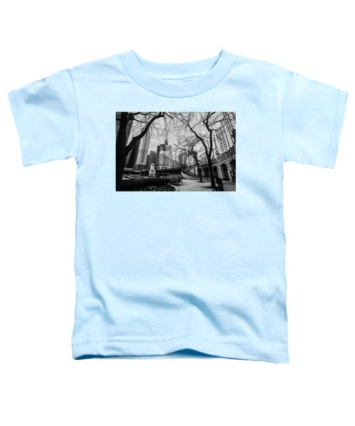 Windy Mornings In The Chi  Toddler T-Shirt