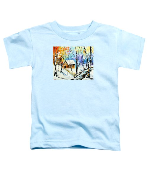 Winter Colors Toddler T-Shirt