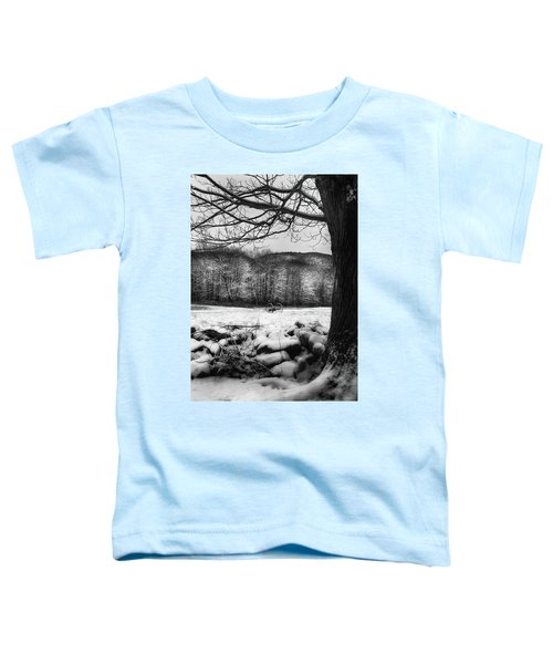 Toddler T-Shirt featuring the photograph Winter Dreary by Bill Wakeley