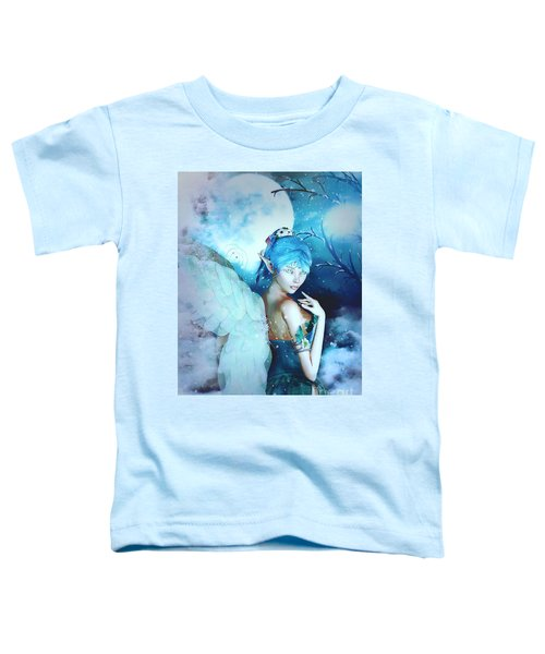 Winter Fairy In The Mist Toddler T-Shirt