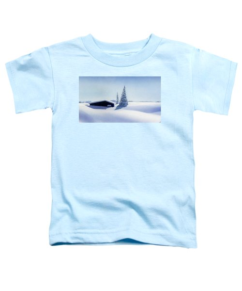 Winter In Austria Toddler T-Shirt