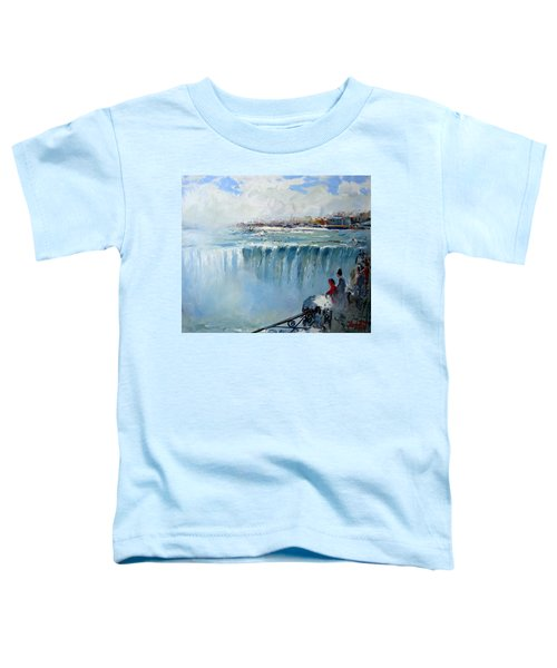 Winter In Niagara Falls Toddler T-Shirt