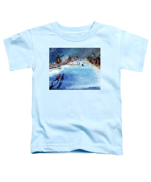 Winter In The Netherlands Toddler T-Shirt