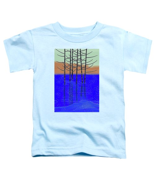 Winter Lake Toddler T-Shirt