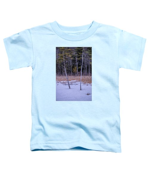 Winter Marsh And Trees Toddler T-Shirt