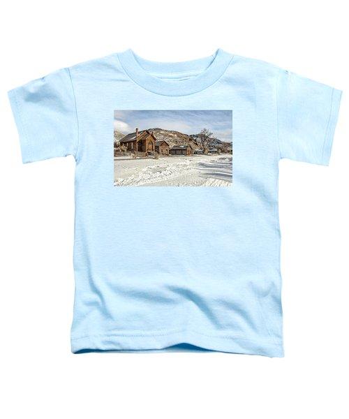 Winter On Main Street Toddler T-Shirt