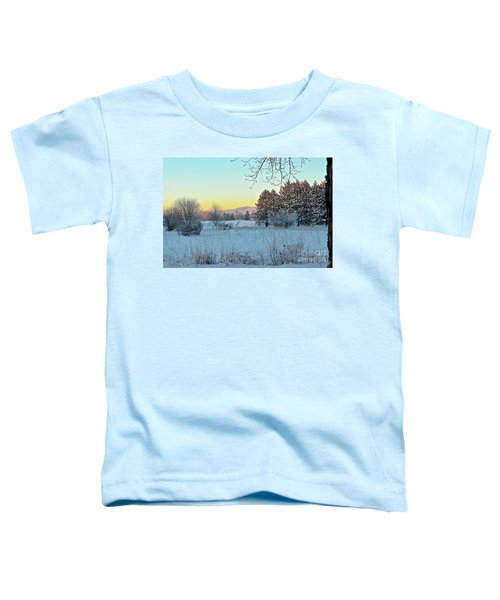 Winter On The Tree Farm Toddler T-Shirt