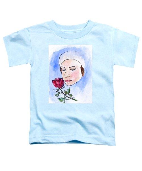 Winter Rose Toddler T-Shirt