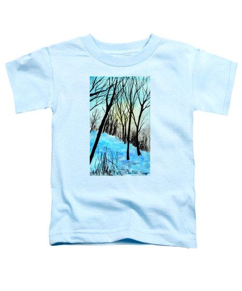 Winter Sunlight Toddler T-Shirt