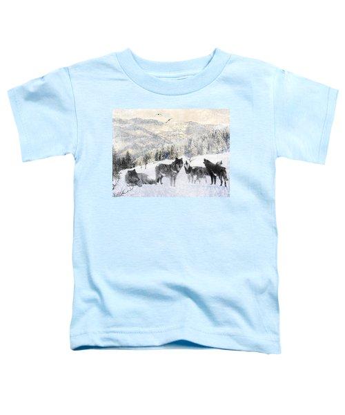 Winter Wolves Toddler T-Shirt