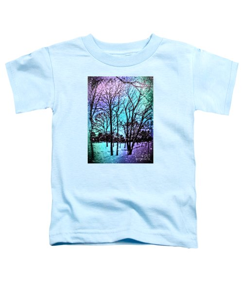 Winter Wonderland Painting Toddler T-Shirt