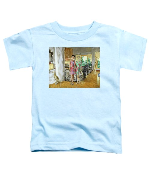 Women In Sunroom Toddler T-Shirt
