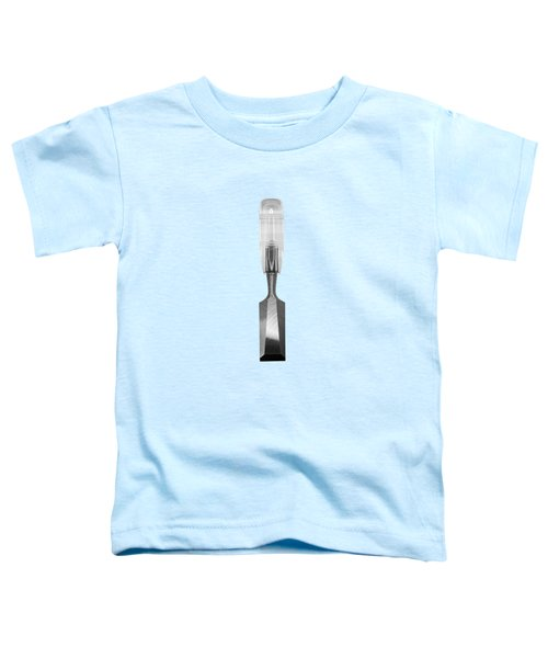 Wood Chisel In Bw Toddler T-Shirt