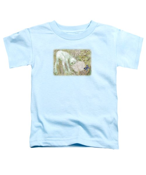 Worthy Is The Lamb - Quote Toddler T-Shirt