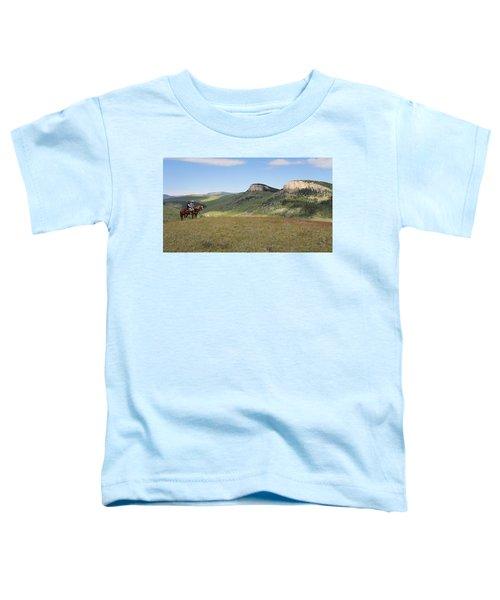 Wyoming Bluffs Toddler T-Shirt
