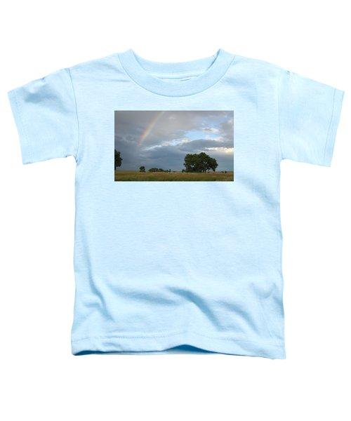 Wyoming Rainbow Toddler T-Shirt