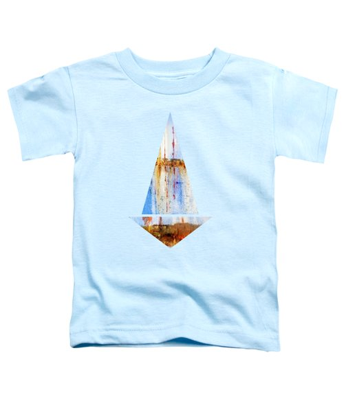 Yachts In The Marina   Toddler T-Shirt