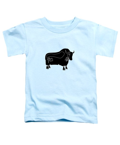 Yak Toddler T-Shirt by Frederick Holiday