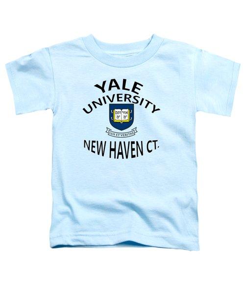 Yale University New Haven Connecticut  Toddler T-Shirt