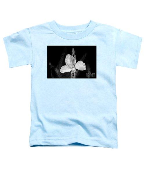 Yellow Black And White Toddler T-Shirt