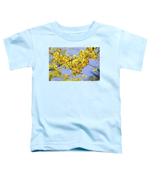 Yellow Blossoms Toddler T-Shirt