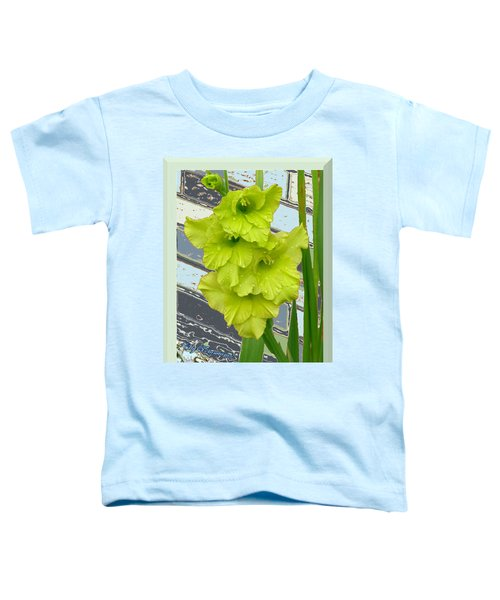 Yellow Gladiolas Toddler T-Shirt