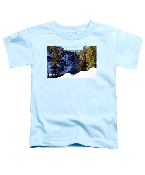 Yellowstone In Winter Toddler T-Shirt