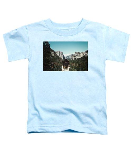 Yosemite Awe Toddler T-Shirt