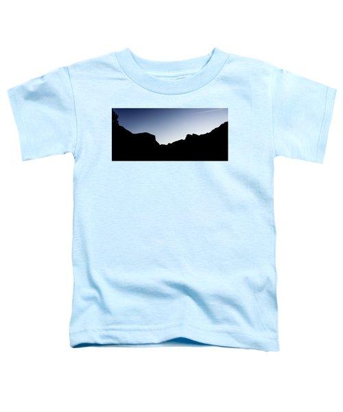 Yosemite In Silhouette Toddler T-Shirt