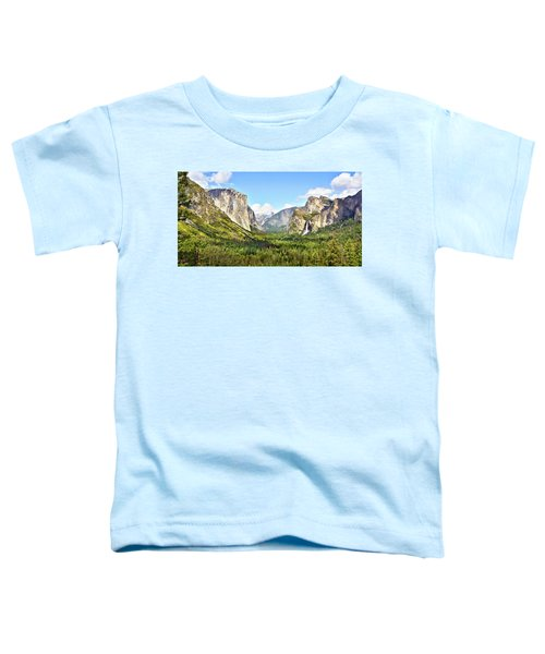 Yosemite Tunnel View Afternoon Toddler T-Shirt