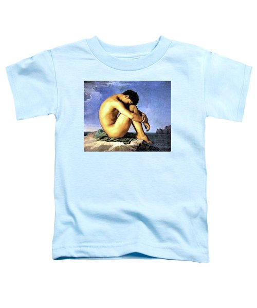 Young Man By The Sea Toddler T-Shirt