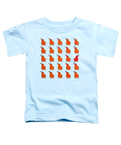 Your Own Path Is The Way Remix Toddler T-Shirt by Oliver Johnston