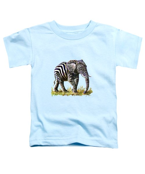 Zebraphant Toddler T-Shirt