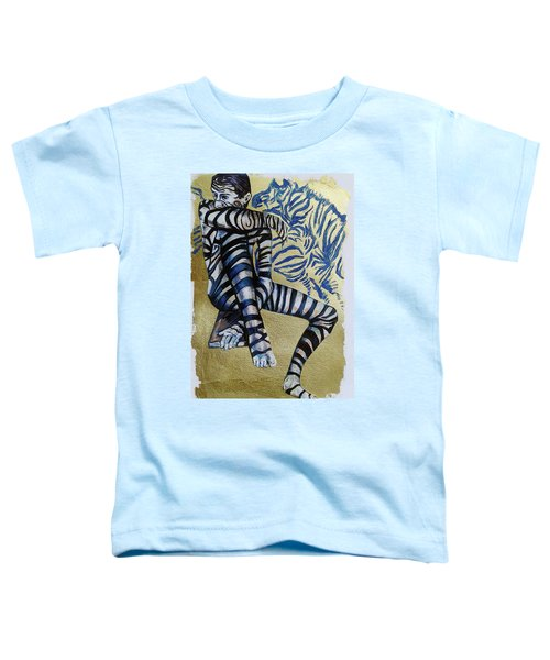 Zebra Boy The Lost Gold Drawing  Toddler T-Shirt