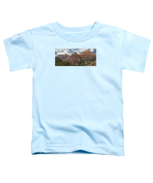 Zion National Park Switchback Road Toddler T-Shirt
