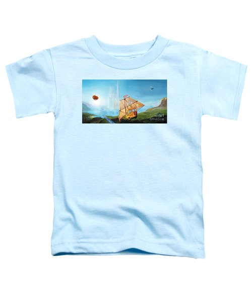 City On The Sea Toddler T-Shirt