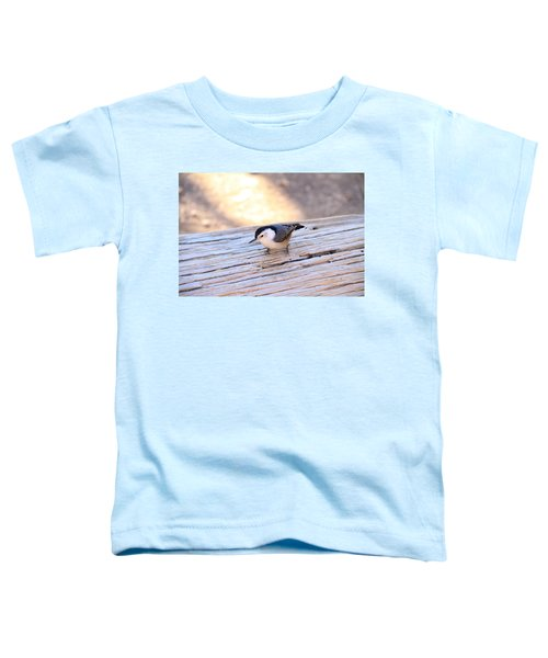 White Breasted Nuthatch Toddler T-Shirt