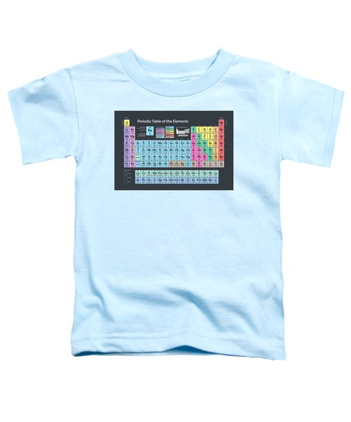 Periodic Table Of Elements Toddler T-Shirt
